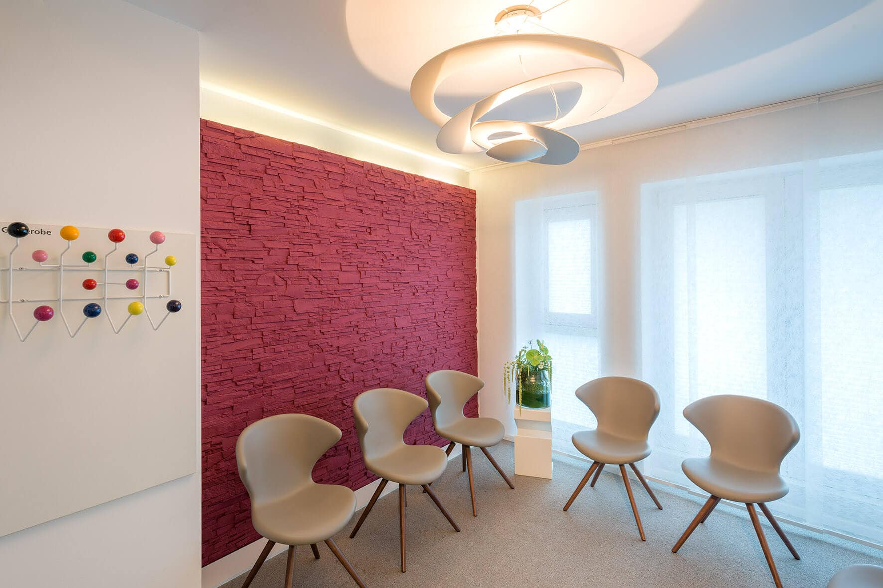 Augenarzt Baden-Baden (Dr. König / Dr. Wißmann): Praxisräume - Wartezimmer 1. OG