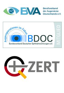 Zertifikate Augenarzt Baden Baden